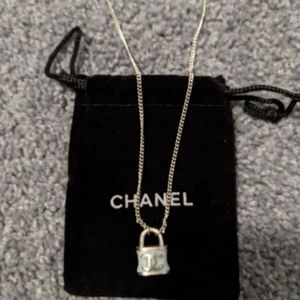 CHANEL Purse Necklace